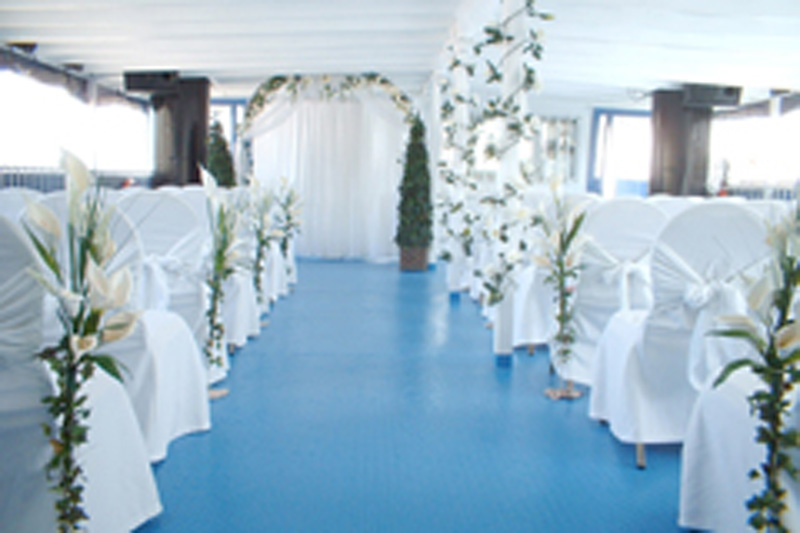 Toronto Wedding Cruise - Ceremony Setup(02)