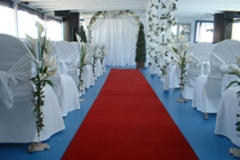 Toronto Wedding Cruise - Ceremony with Red Carpet (06)
